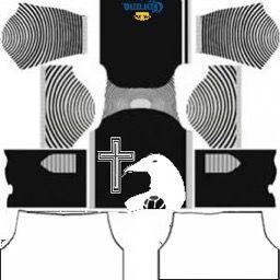 256x256 Finale Club De Cuervo Kit Camisa Dream League Uniformes De Futbol Cuervo Logos De Futbol