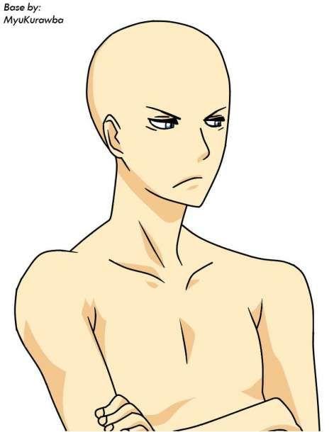 Anime Boy Base : anime, Anime, Drawing, Base,, Drawings