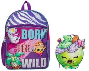 Shopkins Backpack With Lunch With Images Backpacks School