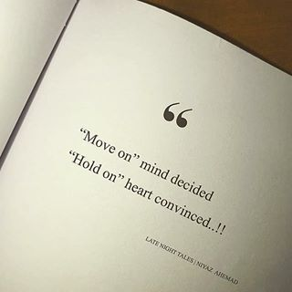 Which one do you follow? Heart or mind?