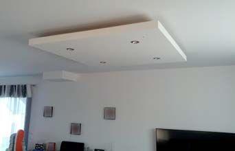 Coffre Placo Carre Idees De Plafond Plafond Design Decoration