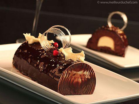 Buche de noel creme chocolat