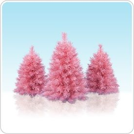 Pretty In Pink Tabletop Trees | Pink Christmas, Pink Christmas Tree And Christmas  Tree.