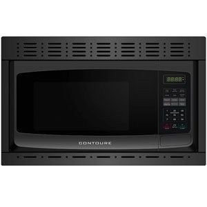 Contoure Microwave Oven 1cf Black