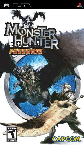 Monster Hunter Freedom Sony Psp Monster Hunter Monster Hunter Freedom 2 Monster Hunter G