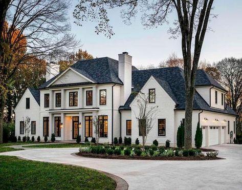 Gorgeous 40 Stunning Mansions Luxury Exterior Design Ideas https://livingmarch.com/40-stunning-mansions-luxury-exterior-design-ideas/