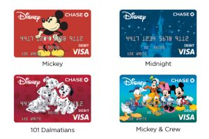 Get a private meet and greet with the characters at Walt Disney World with the Disney Chase Debit Card.