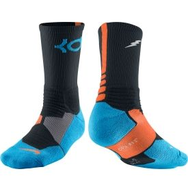 6a45c152c Nike KD Hyper Elite Crew Basketball Sock - Dick s Sporting Goods ...