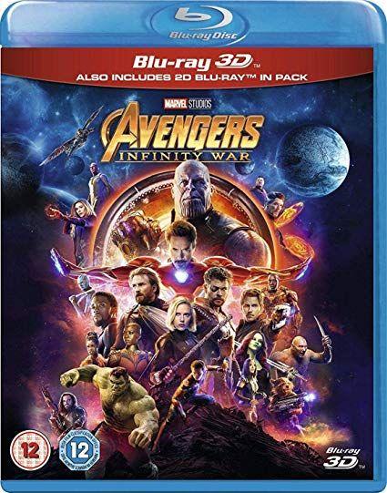 Avengers Infinity War 3d Blu Ray Blu Ray Amazon Ca Robert Downey Jr Chris Evans Scarlett Johansson Chris Avengers Infinity War Avengers Infinity War