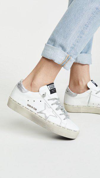 Golden Goose Hi Star Sneakers | Star