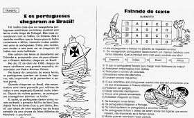 Atividades E Desenhos Sobre O Descobrimento Do Brasil Imprimir