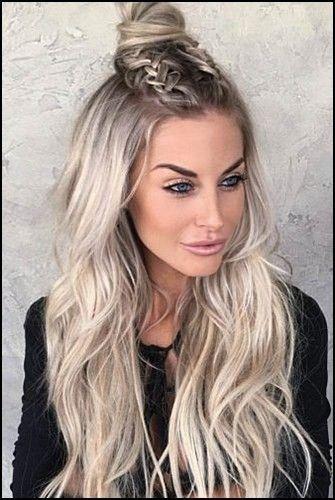 12 Susse Glatte Frisuren Fur Langes Haar 2020 In 2020 Lange Haare Frisur Ideen Frisuren Lang Zopf Lange Haare