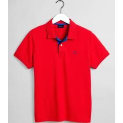 Gant Piqué Rugby Shirt (Rot) Gant Source by ladenzeile tshirt outfit casual