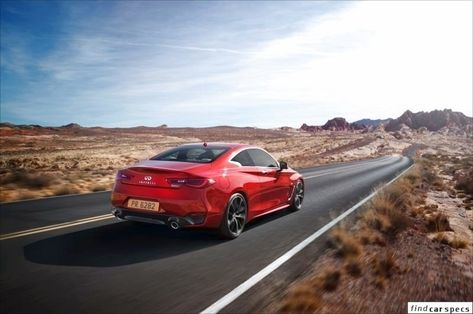 Infiniti Q60 Q60 Ii Coupe Red Sport 3 0t V6 400 Hp Automatic Petrol Gasoline 2017 Q60 Ii Coupe Red Sports Coupe Infiniti Coupe