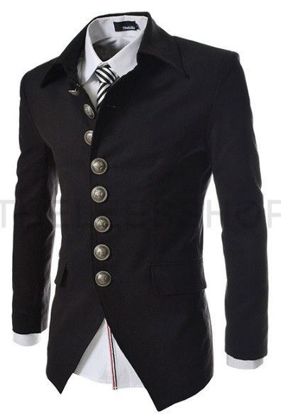 49b9e505551a Gender: Men Item Type: Blazers Clothing Length: Regular Closure Type: Single  Breasted Material: Cotton,Polyester - Sleeve Length: Full - Shipping : FREE  ...