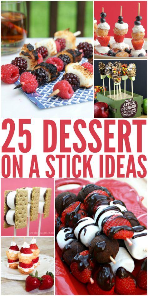 25 Dessert on a Stick Ideas on The Bewitchin' Kitchen.