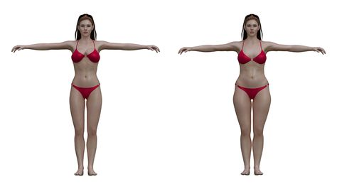 Ideal to real: What the 'perfect' body really looks like for