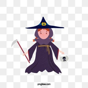 Cartoon Witch Hand Drawn Skull Illustration Halloween Human Skeleton Exquisite Png Transparent Clipart Image And Psd File For Free Download Cartoon Witch Skull Illustration Cartoon Clip Art