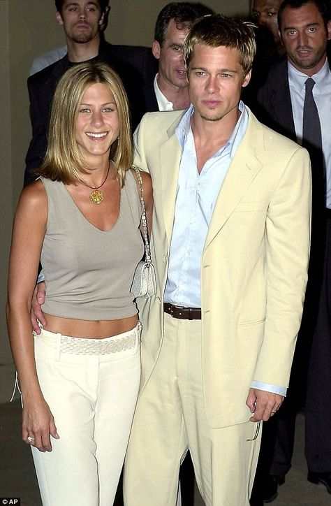 Jennifer Aniston 'thinks Brad Pitt and Angelina Jolie split is karma' Friends say Jennifer Aniston sees the impending divorce of Brad Pitt and his second wife as 'karma' for what happened to her 11 years ago.