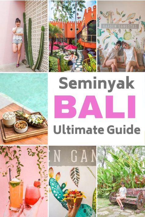 Planning to travel Seminyak Bali? Here is everything you need to know, including places to dine, things to do, and places to stay!  #Indonesia #Bali #Seminyak #SouthEastAsia