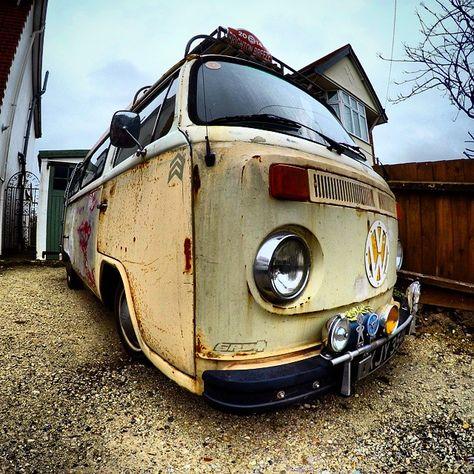 late bay campervan
