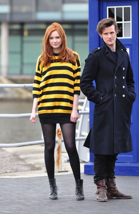 Matt Smith & Karen Gillian (The Doctor and Amy) Doctor Who