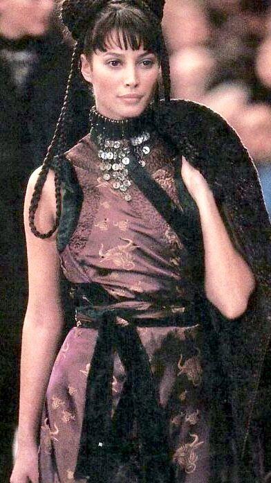 Pin by Debra on Christy Turlington | Christy turlington, Jean paul gaultier, Celebrities female