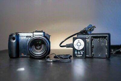 Canon Powershot Pro 1 8mp Digital Camera Black Near Camera Digital Camera Powershot