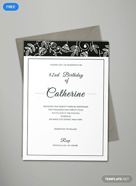 Free Formal Event Invitation Event Invitation Card Design