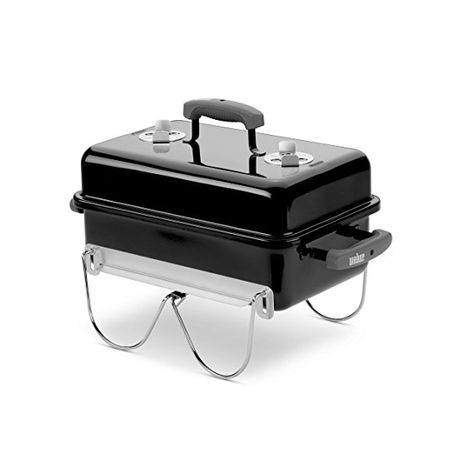 Weber 121020 Go Anywhere Charcoal Grill Portable Charcoal Bbq