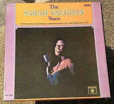 Vintage The Sarah Vaughn Years Roulette Records Lp Vinyl Compilation Albums Rare Lp Vinyl John Mellencamp Roulette