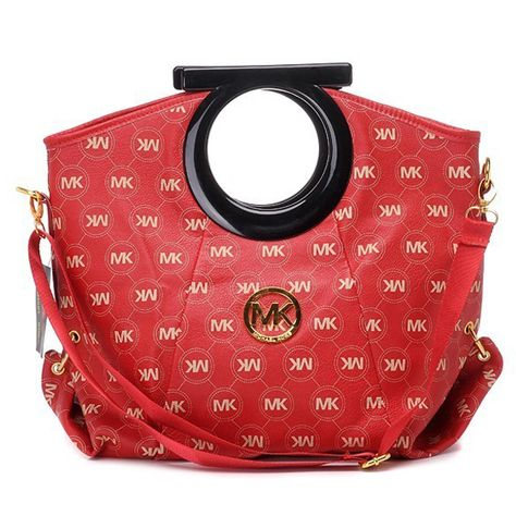 Want it. It can save 50% now on the site.Michael Kors Logo-Print Large Red  Clutches I loveeee 3374e40b74
