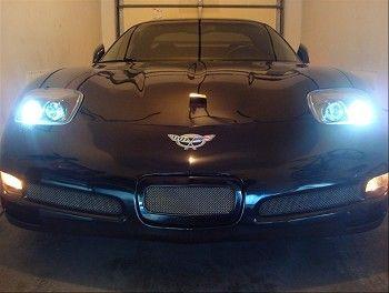 C5 Corvette Fixed Headlights C5 R Style Corvette Mods Corvette Headlights Custom Headlights