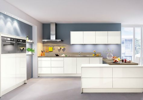 10 best Hochglanzküchen images on Pinterest Contemporary unit - neue küche planen