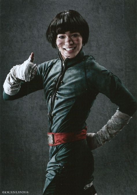 Yugo Sato as Rock Lee Live Spectacle Naruto - 2016