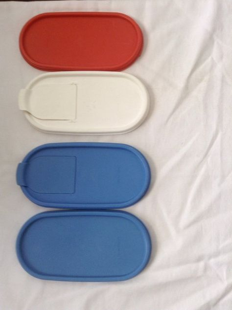 Tupperware Modular Mates Replacement Seal Round Rectangle Cereal Oval Pour Lid