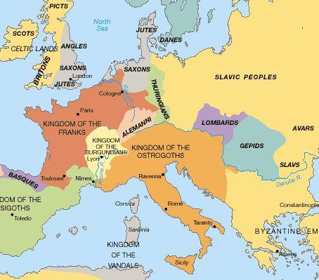 Barbarian Europe 10 Divisions Of Rome Bible Study Daniel