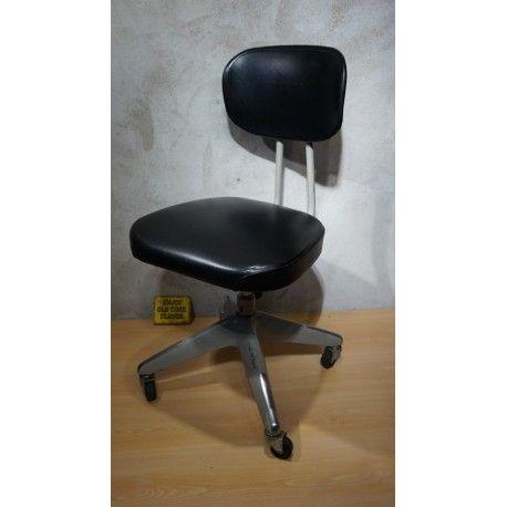 Mooie Stevige Bureaustoel.Hele Mooie Vintage Design Bureaustoel Okamura 1971 Japan Staat