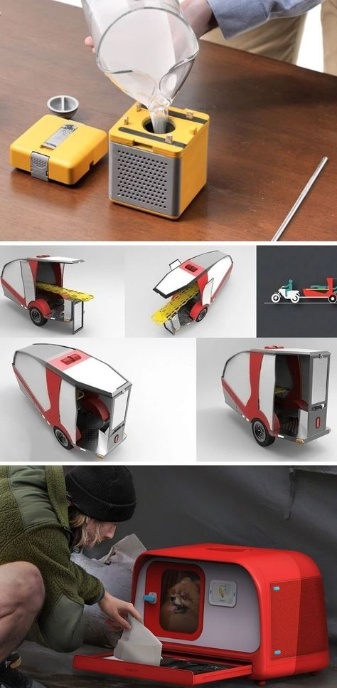 Emergency product designs to prepare and rescue you from any life-threatening situations!