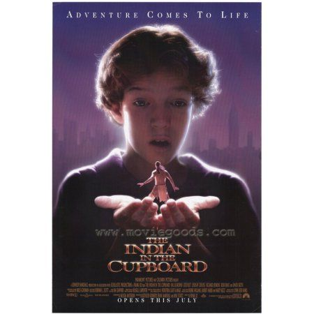The Indian In The Cupboard Poster Movie Mini Promo Indianweddings Indian In The Cupboard Movie Posters Movie Posters Vintage