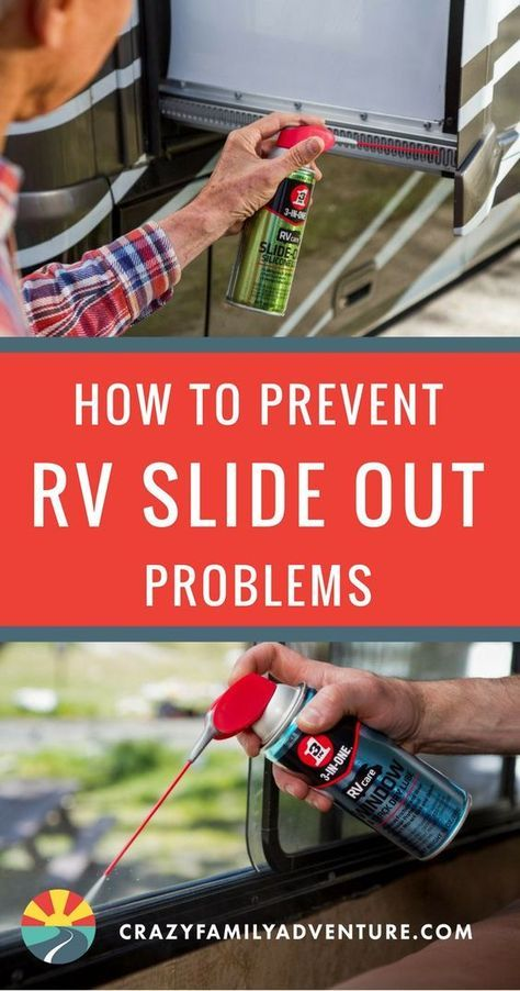 How to Prevent RV Slide Out Problems- Throughout our years of full-time RV Living, we have discovered a few helpful RV hacks. Find out how to prevent pesky RV slideout problems, for any amount of time spent RV Camping.