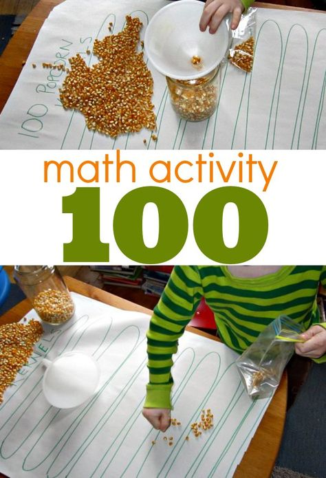 Math activity to teach counting to 100 by tens.