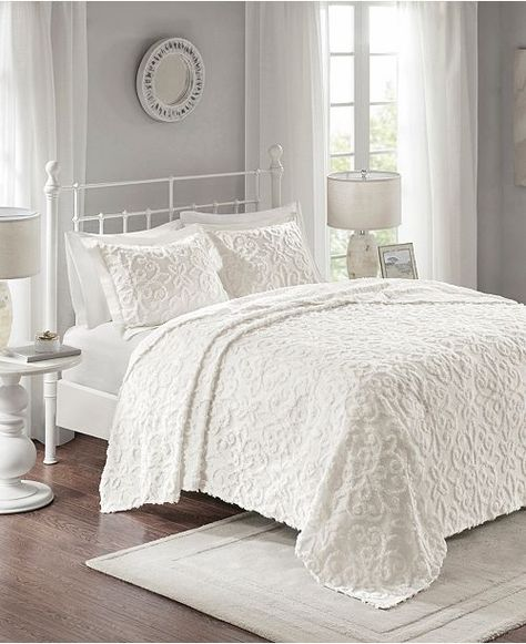 California King Chenille Bedspreads.Madison Home Usa Sabrina 3 Pc King California King Tufted