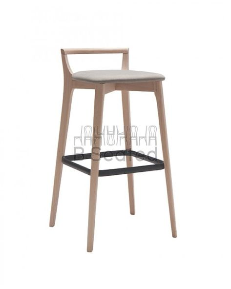 Pleasing Copenhagen 65Cm Bar Stool Natural Inzonedesignstudio Interior Chair Design Inzonedesignstudiocom
