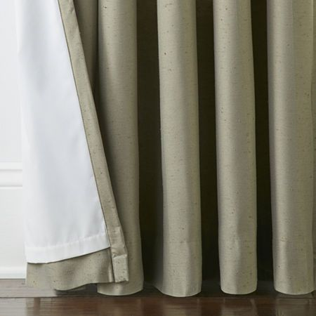 Jcpenney Home Energy Saving Light Filtering Pinch Pleat Curtain