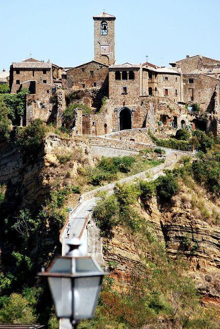 Bagnoregio Viterbo Civita Lazio Italy Dicivita Di Bagnoregio