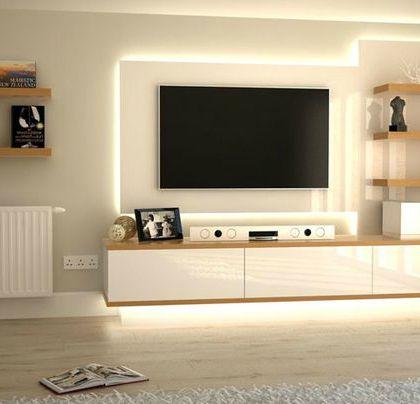 Samsung 65 Inch 4k Ultra Hd Smart Led Tv 2017 Model Modern Tv Units Modern Tv Wall Units Wall Unit Designs
