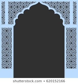 Arch Vector Images Stock Photos Vectors Shutterstock Moroccan Design Sliding Door Design Pooja Room Door Design