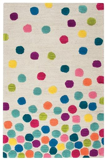 Rizzy Home Play Day Confetti Dots Rugs Rugs Direct Hand Tufted