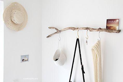 Diy In Der Elbinselwilla Garderoben Wand Garderobe Holz